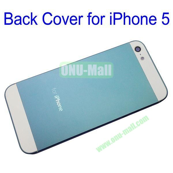 Back Cover Replacement Repair Parts for iPhone 5 (Blue)