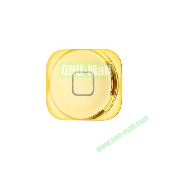 Colorful Spare Parts Replacements Home Buttons for iPhone 5 (Gold)