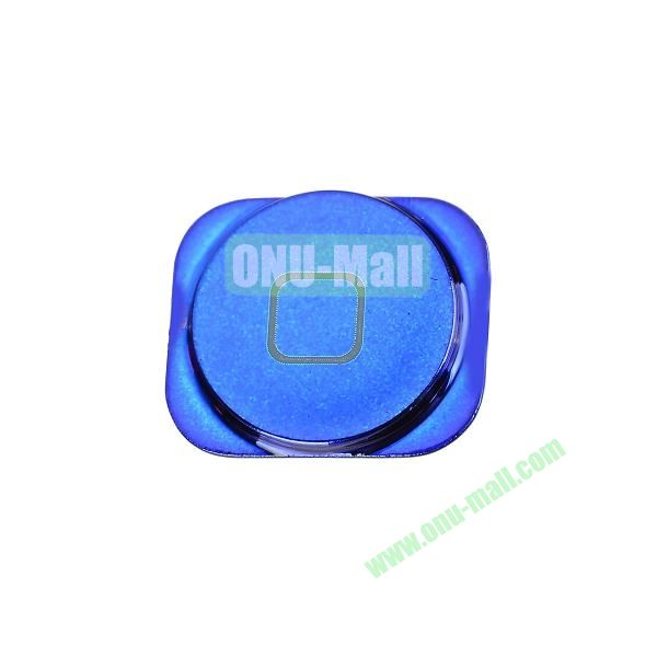 Colorful Spare Parts Replacements Home Buttons for iPhone 5 (Blue)