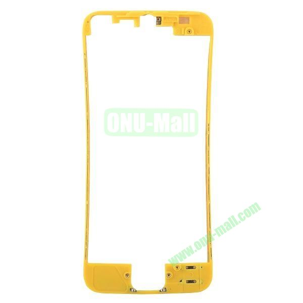 Colored LCD Supporting Frame Replacement Parts for iPhone 5 (Yellow)