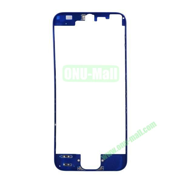 Colored LCD Supporting Frame Replacement Parts for iPhone 5 (Blue)