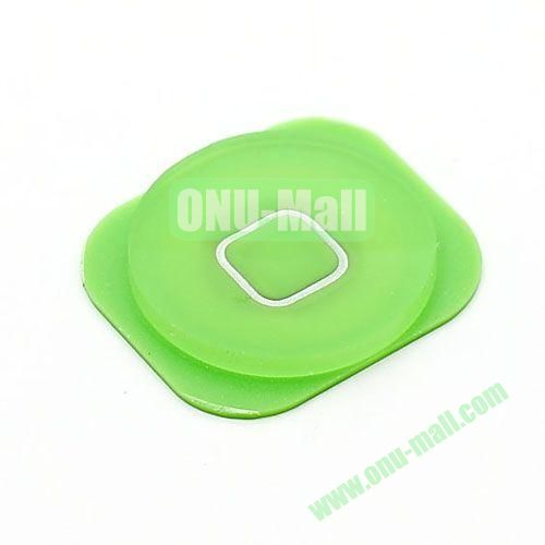 Home Button Key Replacement Spare Part for iPhone 5 (Green)