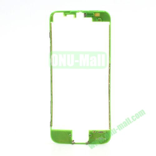 Colored LCD Supporting Frame with 3M Adhesive Sticker Replacement for iPhone 5 (Green)