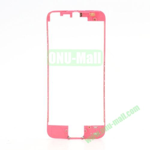 Colored LCD Supporting Frame with 3M Adhesive Sticker Replacement for iPhone 5 (Pink)