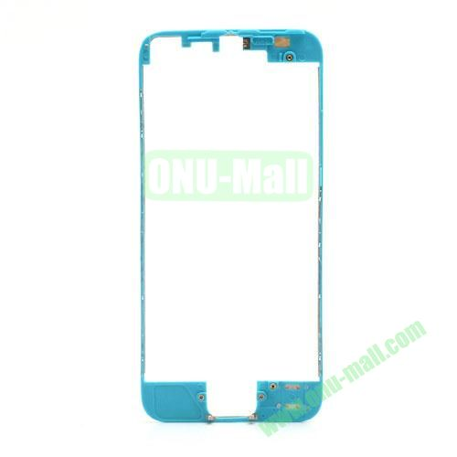 Colored LCD Supporting Frame with 3M Adhesive Sticker Replacement for iPhone 5 (Blue)