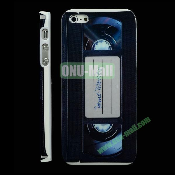Special Design Hard PC Case For iPhone 5 5S (Home Movie)