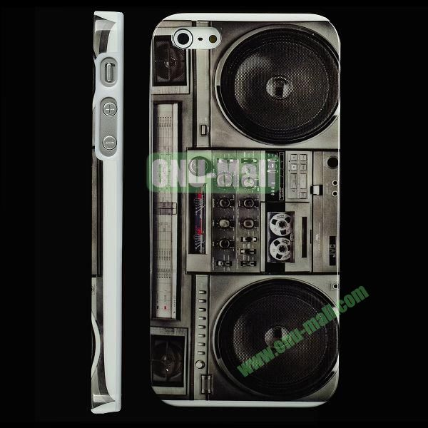 Special Design Hard PC Case For iPhone 5 5S (Old Radio)