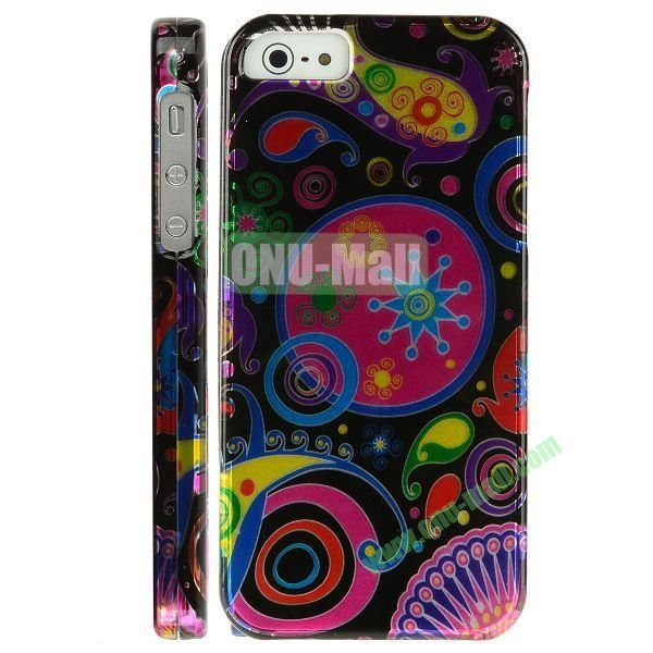 Special Design Front and Back Hard Case For iPhone 5 5S (Beautiful Pattern)