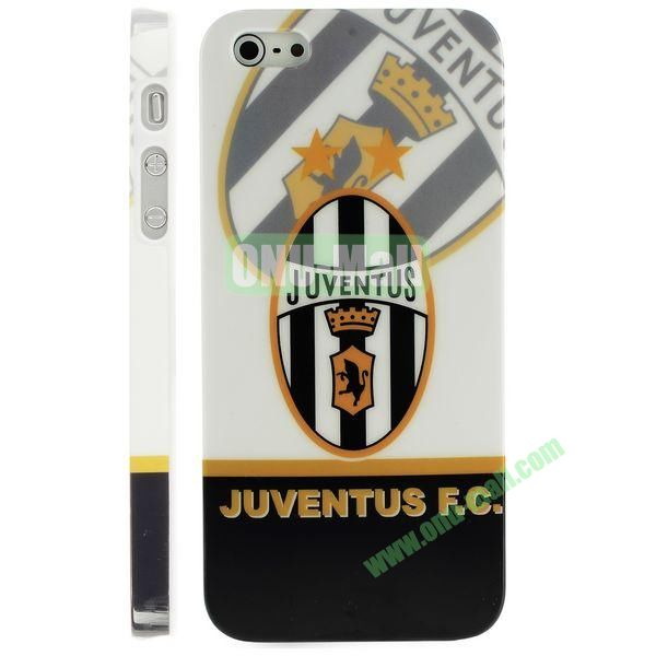 Unique 3D Printing Design Hard Plastic Case for iPhone 5 5S (Juventus Team)