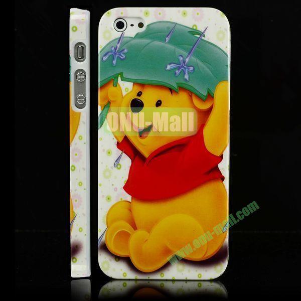 Unique 3D Printing Design Hard Plastic Case for iPhone 5 5S (Winnie the Pooh)