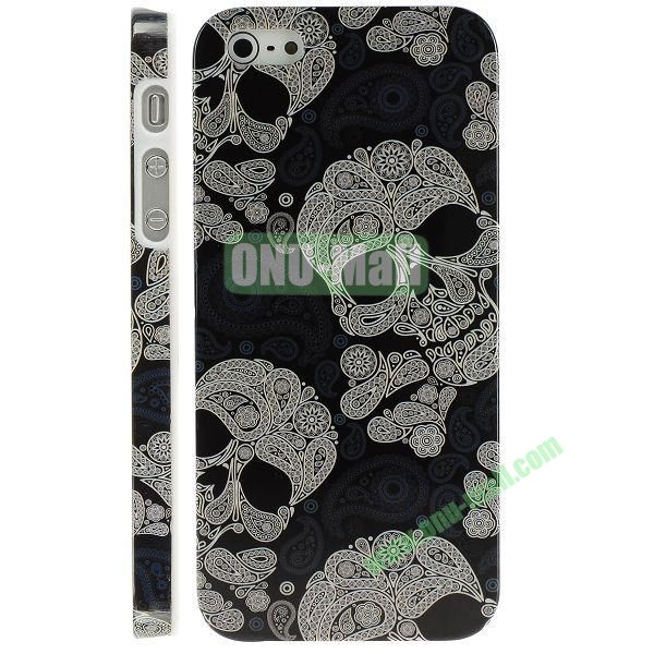 Unique 3D Printing Design Hard Plastic Case for iPhone 5 5S (Human Skeleton)
