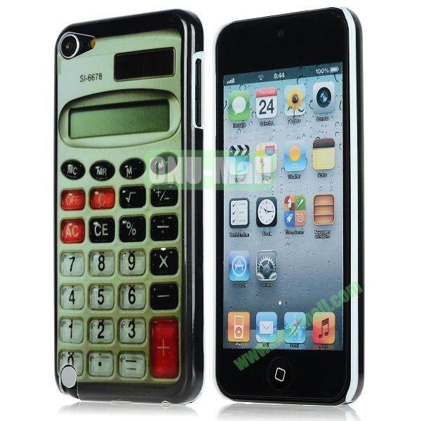 Unique Pattern PC Hard Case for iPhone 5 5S (Calculator)