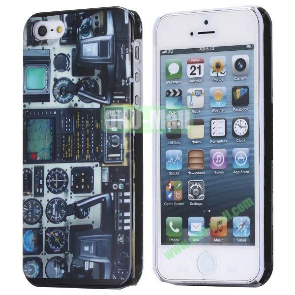 New Arrival Cool Design 3D Printing Hard Plastic Case for iPhone 5 5S (Flight Cabin)