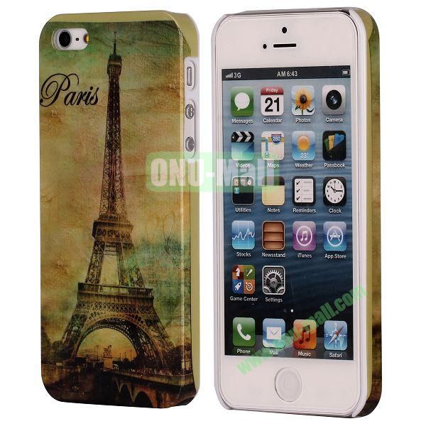 3D Printing European Style Hard Case for iPhone 5 5S (Old Paris)