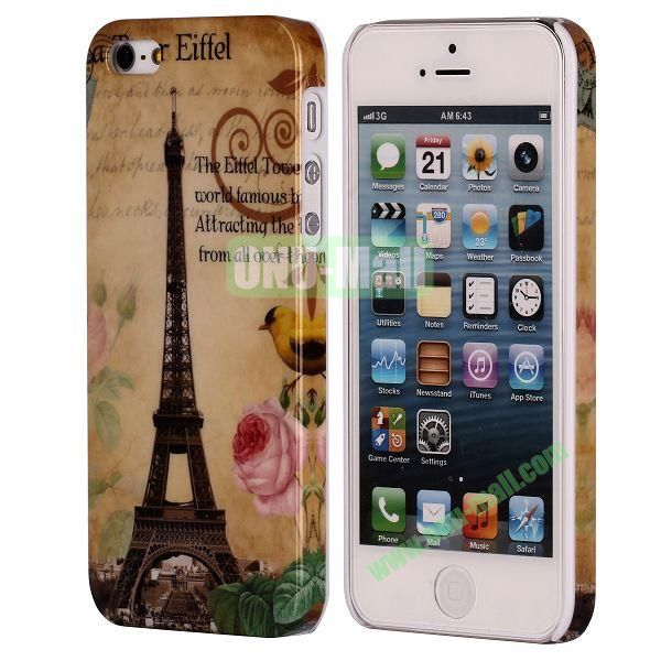 3D Printing European Style Hard Case for iPhone 5 5S (Beautiful Paris)