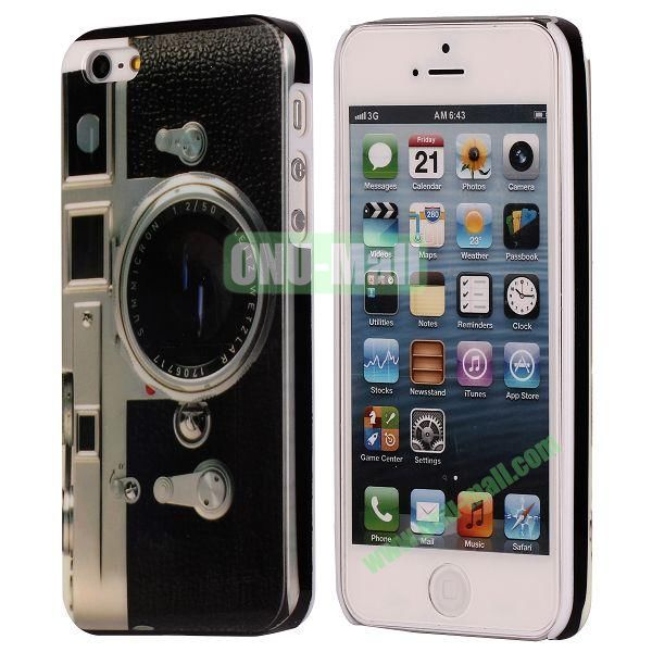 3D Printing European Style Hard Case for iPhone 5 5S (Old Camera)