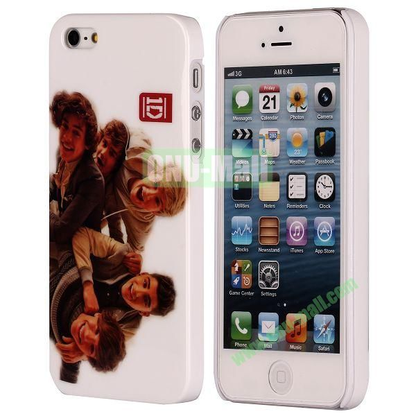 3D Printing European Style Hard Case for iPhone 5 5S (One Direction)