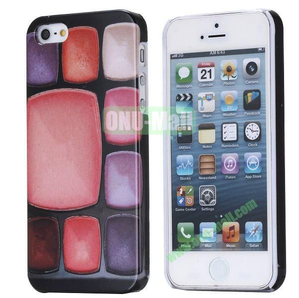 Fashionable Special 3D Full Printing Hard Case for iPhone 5 5S (Foundation Make-up Cases)