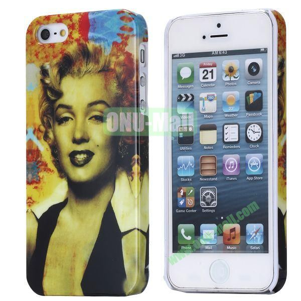 Fashionable Special 3D Full Printing Hard Case for iPhone 5 5S (Madonna)