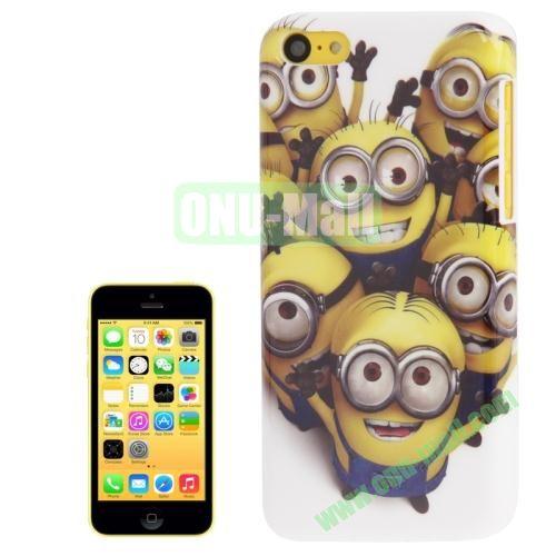 2014 Newest TPU Case For iPhone 5C Minions Pattern TPU Case