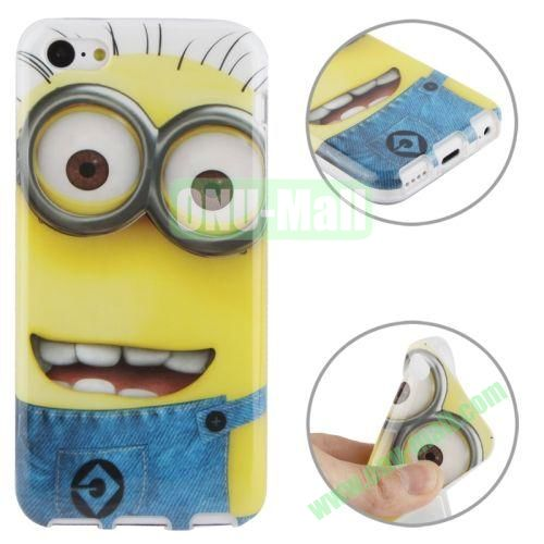 for iPhone 5C Minions Pattern TPU Case