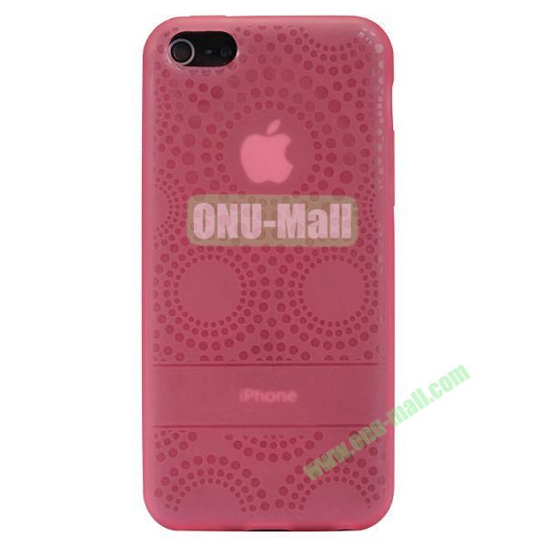 Baseus Sunflower TPU Case + Screen Protector For iPhone 5C (Pink)