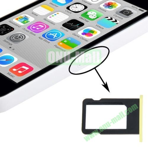 SIM Card Tray Holder for iPhone 5C (Yellow)