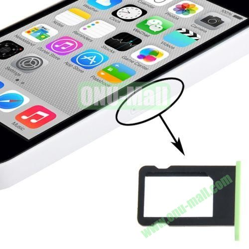 SIM Card Tray Holder for iPhone 5C (Green)