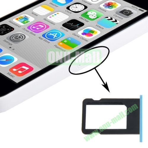 SIM Card Tray Holder for iPhone 5C (Blue)