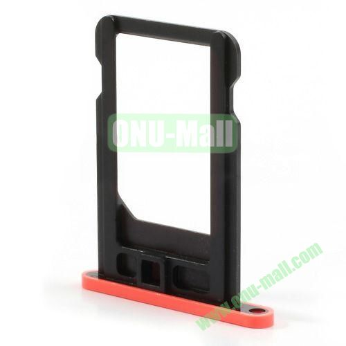 SIM Card Tray Holder Replacement Part for iPhone 5C (Hot Pink)