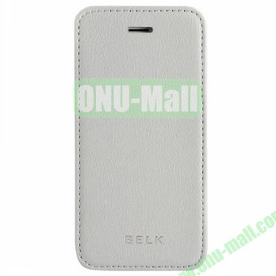 Litchi Texture Flip Pattern Leather Case for iPhone 5S5 (Grey)