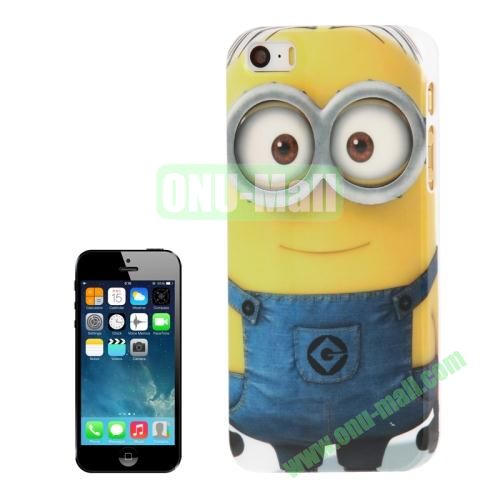 2014 Newest Minions Pattern Hard Case For iPhone 5S