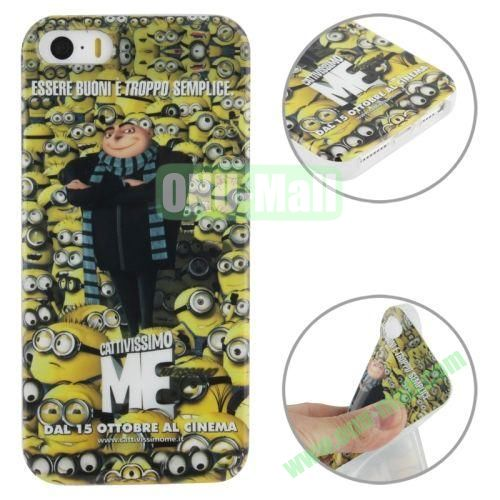 for iPhone 55S Minions Pattern TPU Case