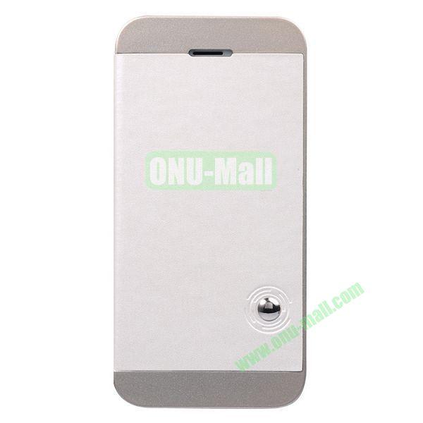 Baseus Unique Folio Leather Shell Case for iPhone 5S  5 (White+Grey)