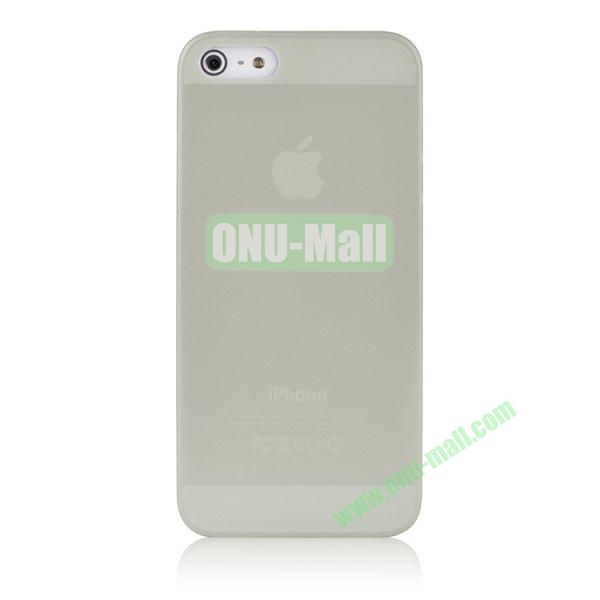 BASEUS Organdy Ultra Thin Hard Protective Case for iPhone 5S  5 (Transparent)