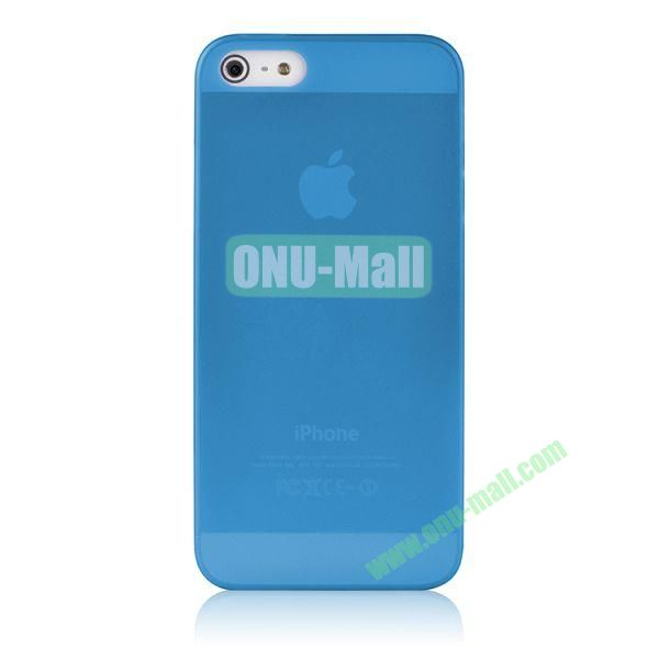 BASEUS Organdy Ultra Thin Hard Protective Case for iPhone 5S  5 (Blue)