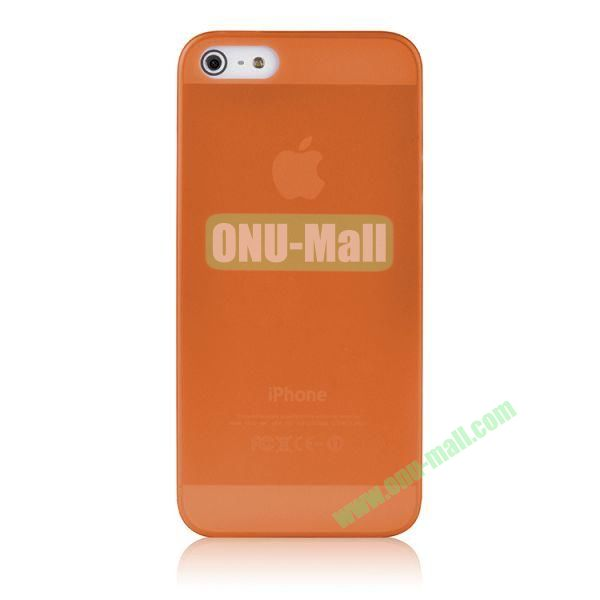 BASEUS Organdy Ultra Thin Hard Protective Case for iPhone 5S  5 (Orange)