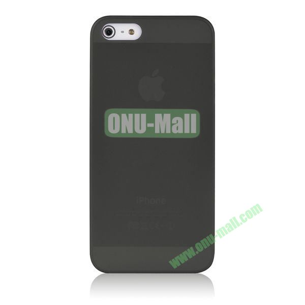 BASEUS Organdy Ultra Thin Hard Protective Case for iPhone 5S  5 (Black)