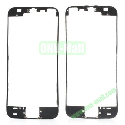 LCD Touch Screen Bezel Frame Replacement for iPhone 5S (Black)