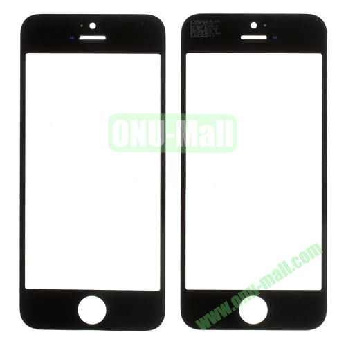 OEM Front Outer Glass Lens Cover for iPhone 5S (Black)