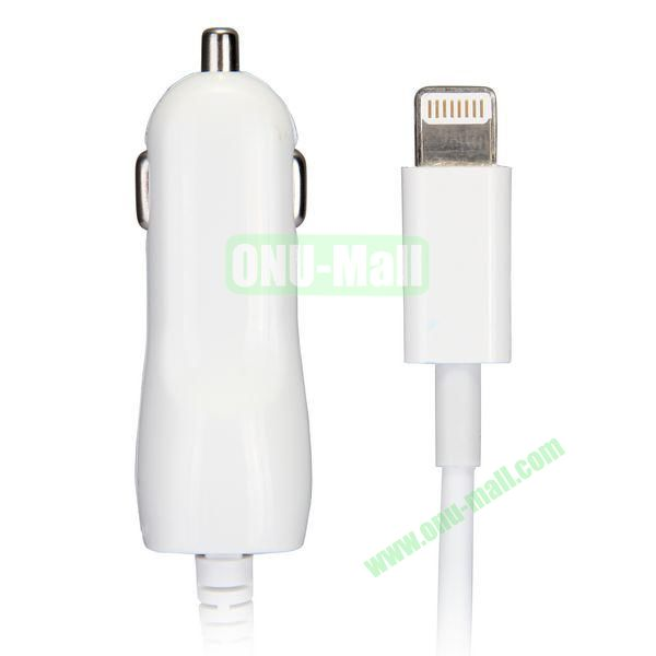 HY-1302 Retractable Car Charger For iPhone 5 5S iPad Mini iPad Air