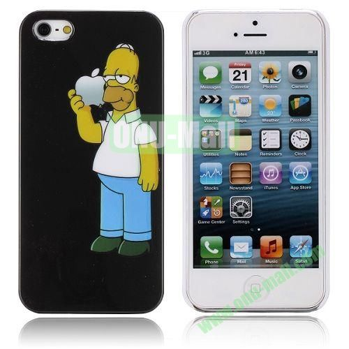 The Simpsons Pattern Hard Case for iPhone 5  5S