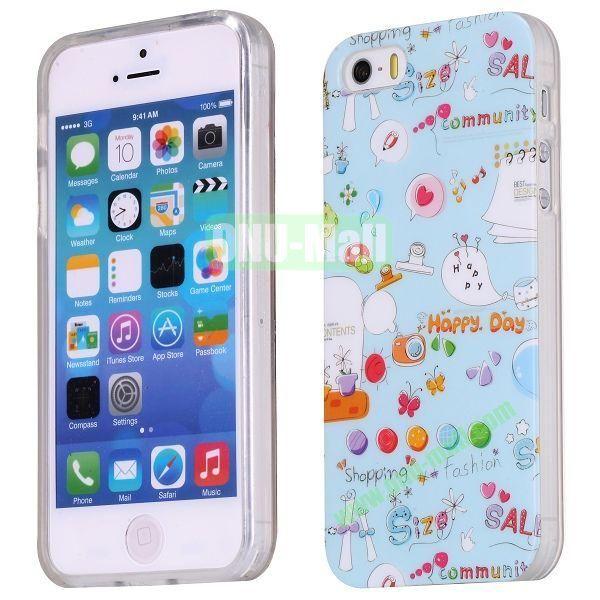 Cute Pattern TPU Case for iPhone 5S  5