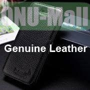 K-Cool Litchi Texture Folio Flip Genuine Leather Case with Card Slots for iPhone 5 5S (Black)