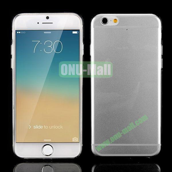 0.3mm Silm Transparent Color Soft TPU Case for iPhone 6 Plus 5.5 inch (Transparent)