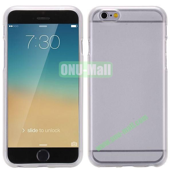 Solid Color Frosted Surface TPU Case for iPhone 6 Plus 5.5 inch (Transparent)