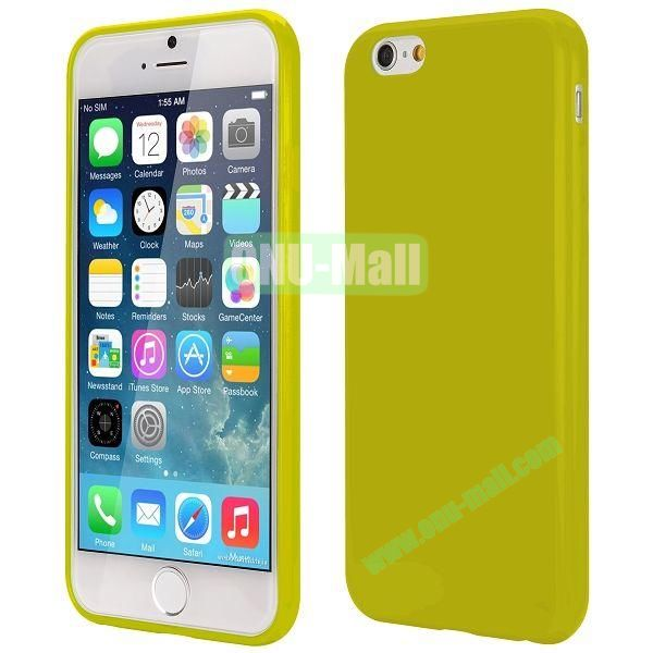 Slim Smooth Solid Color TPU Case for iPhone 6 Plus 5.5 inch (Dark Green)