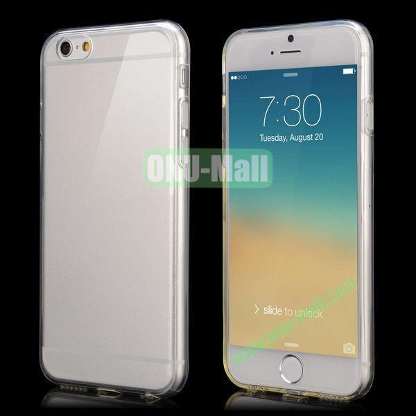 Smooth Slim TPU Case for iPhone 6 Plus 5.5 inch (Transparent)