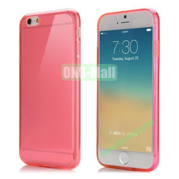 Smooth Slim TPU Case for iPhone 6 Plus 5.5 inch (Red)