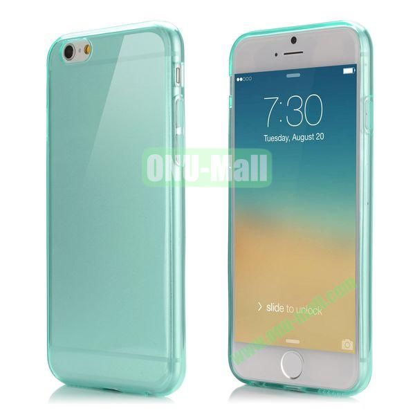 Smooth Slim TPU Case for iPhone 6 4.7 inch  (Light Blue)